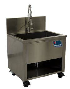 ultrasonics 2400 rinse sink