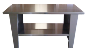 ultrasonics stainless steel table
